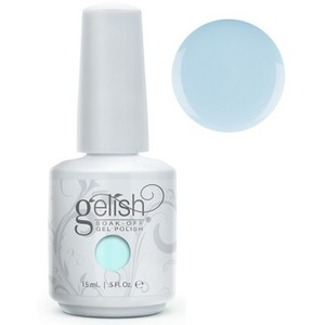 Gelish Color Coat: Water Baby (formerly My One Blue Love) 0.5oz. - 15mL. - Gelish Soak Off Gel Nail Polish by Nail Harmony (#01595)
