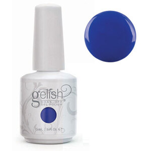 Gelish Color Coat: Mali-Blu Me Away 0.5oz. - 15mL. - Gelish Soak Off Gel Nail Polish by Nail Harmony (#01621)
