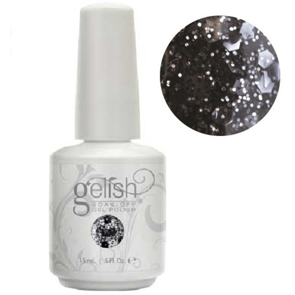 Gelish Color Coat: Concrete Couture 0.5oz. - 15mL. - Gelish Soak Off Gel Nail Polish by Nail Harmony (#01858)