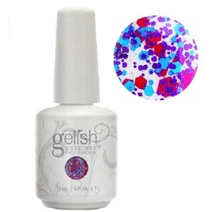 Gelish Color Coat: Let Me Top You Off 0.5oz. - 15mL. - Gelish Soak Off Gel Nail Polish by Nail Harmony (#01861)