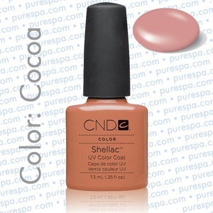 Pre-Order: CND Shellac Cocoa 0.25 oz. - 7.3 mL - The 14 Day Manicure is Here! (684)