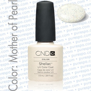 Pre-Order: CND Shellac Mother of Pearl 0.25 oz. - 7.3 mL - The 14 Day Manicure is Here! (691)