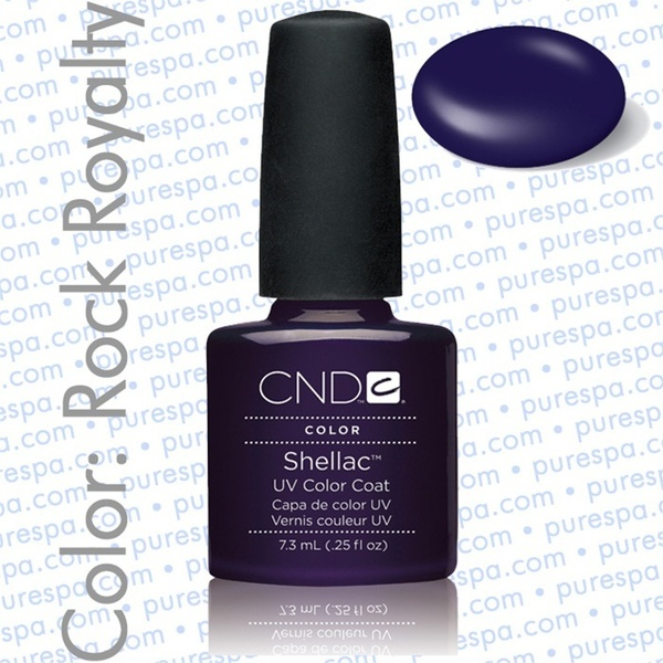 Pre-Order: CND Shellac Rock Royalty 0.25 oz. - 7.3 mL - The 14 Day Manicure is Here! (692)