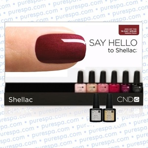 Pre-Order: CND Shellac Rack B 0.25 oz. - 7.3 mL - The 14 Day Manicure is Here! (694)