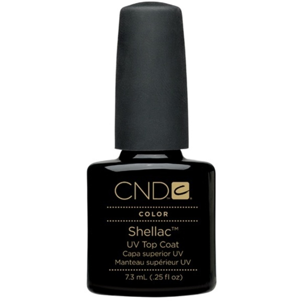 CND Shellac UV Top Coat 0.25 oz. - 7.3 mL - The 14 Day Manicure is Here! (658)