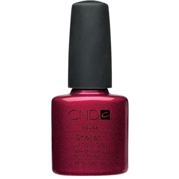 CND Shellac Red Baroness 0.25 oz. - 7.3 mL - The 14 Day Manicure is Here! (673)