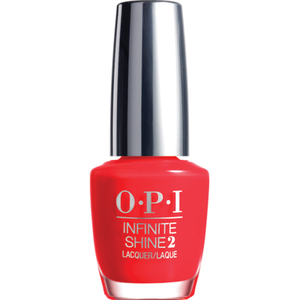 OPI Infinite Shine - Air Dry 10 Day Nail Polish - Unrepentantly Red (IS L08)