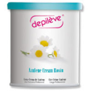 Depileve Strip Wax - Azulene Cream Rosin 28 oz. (2-AZULENE-CREME-WAX-28OZ)
