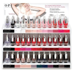 OPI Infinite Shine - Air Dry 10 Day Nail Polish - 108 Piece Counter Display (ISD19)