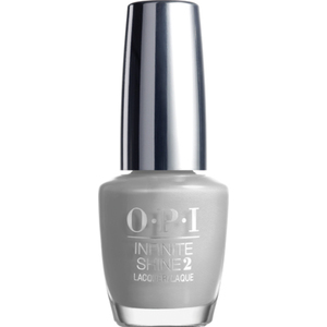 OPI Infinite Shine - Air Dry 10 Day Nail Polish - Summer 2015 - SILVER ON ICE - ISL48 0.5 oz. (ISL48)