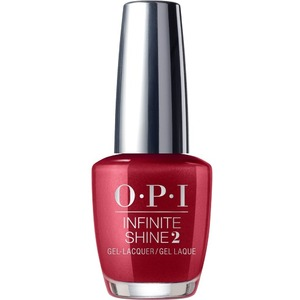 OPI Infinite Shine - Air Dry 10 Day Nail Polish - AN AFFAIR IN RED SQUARE - ISLR53 0.5 oz. (ISLR53)