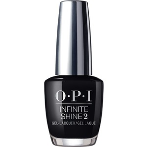 OPI Infinite Shine - Air Dry 10 Day Nail Polish - BLACK ONYX - ISLT02 0.5 oz. (ISLT02)