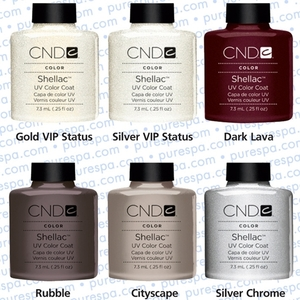 IN STOCK NOW! - The 6 New 2012 CND Shellac Colors!