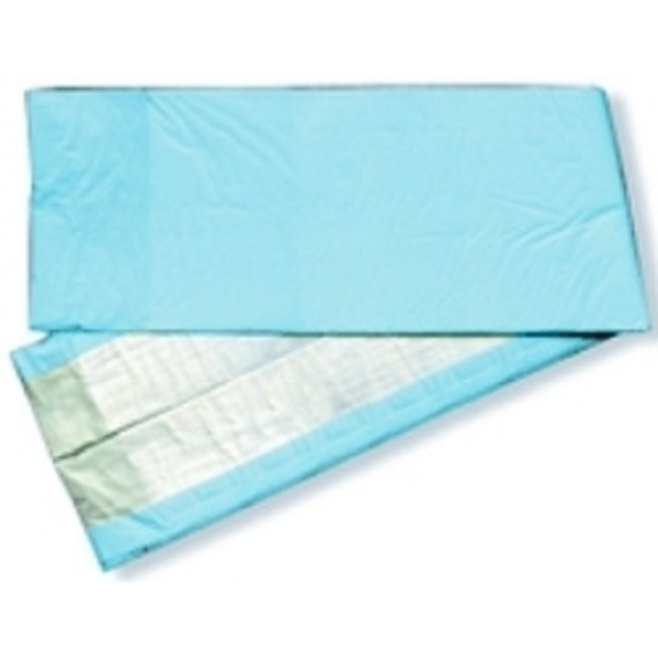Dry Underpads23X36 Standard Fluff Blue Backing