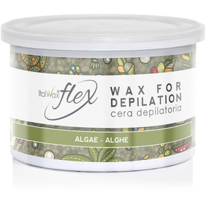 ItalWax Flex Wax - Algae - Soft Strip Wax from Italy 14 oz. Can (FLEX-ALGAE-14OZ.CAN X 1)
