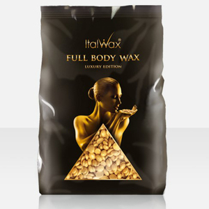 ItalWax Film Wax - Cleopatra Full Body Wax - Hard Stripless Wax Beads from Italy 2.2 lbs. - 1 kg. Bag (CLEOPATRA-HARD-2.2 LB.BAG X 1)