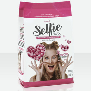 ItalWax Film Wax - Selfie Wax for Face - Hypoallergenic Hard Stripless Wax Beads from Italy 1.1 lb. - 500 Gram Bag (SELFIE-WAX-1.1-LB-BAG X 1)