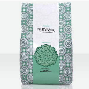 ItalWax Film Wax - Nirvana Premium SPA Sandalwood - Hard Stripless Wax Beads from Italy 2.2 lbs. - 1 kg. Bag (NIRVANA-SANDAL-HARD-2.2 X 1)