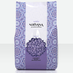 ItalWax Film Wax - Nirvana Premium SPA Lavender - Hard Stripless Wax Beads from Italy 2.2 lbs. - 1 kg. Bag (NIRVANA-LAVENDER-HARD-2.2 X 1)