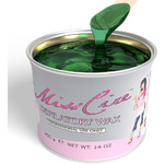 Miss Cire Emerald Green - Soft Strip Wax 14 oz. Can X 12 Cans = 1 Case (620300 X 12)