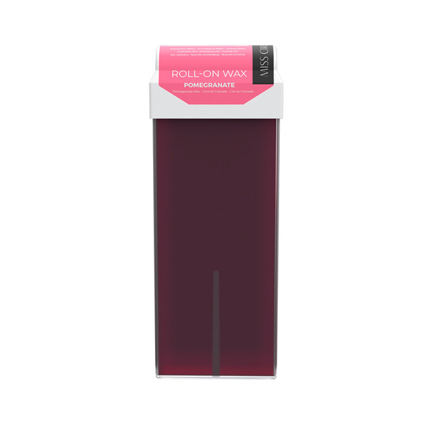 Miss Cire Pomegranate Roll-On Low Temperature Strip Wax 110 grams - 3.7 oz. Cartridge 24 Cartridge Case (611400 X 24)