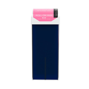 Miss Cire Blue Azulene Roll-On Low Temperature Strip Wax 110 grams - 3.7 oz. Cartridge 24 Cartridge Case (611600 X 24)