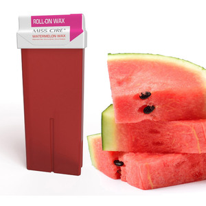 Miss Cire Watermelon Roll-On Low Temperature Strip Wax 110 grams - 3.7 oz. Cartridge 24 Cartridge Case (611750 X 24)