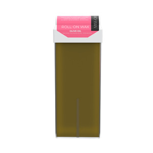 Miss Cire Olive Oil Roll-On Low Temperature Strip Wax 110 grams - 3.7 oz. Cartridge 24 Cartridge Case (611650 X 24)
