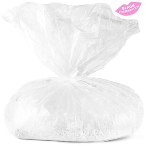Miss Cire Clear Beads - Besame Mucho - Hypoallergenic Stripless Film Hard Wax Beads  10 lbs. - 4.54 Kg. Bag (BESAME-MUCHO-10LBS X 1)