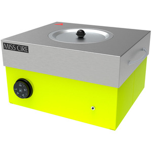 Miss Cire Neon Yellow Hybrid Large Professional Wax Warmer  5 Lbs. ()