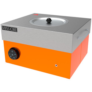Miss Cire Neon Orange Hybrid Large Professional Wax Warmer  5 Lbs. ()