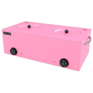 Miss Cire Double Pink Wax Warmer  5 Lb x 2 ( 10 Lbs. total) ()