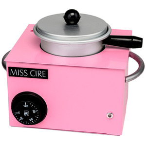 Miss Cire Small Hard-Soft Wax Hybrid Pink Wax Warmer  14 oz. ()