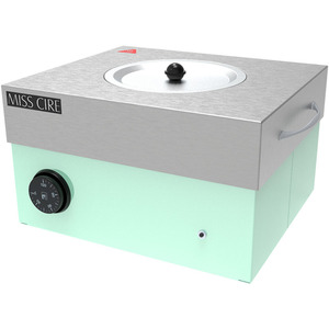 Miss Cire Hybrid Mint Large Professional Wax Warmer  5 Lbs. ()