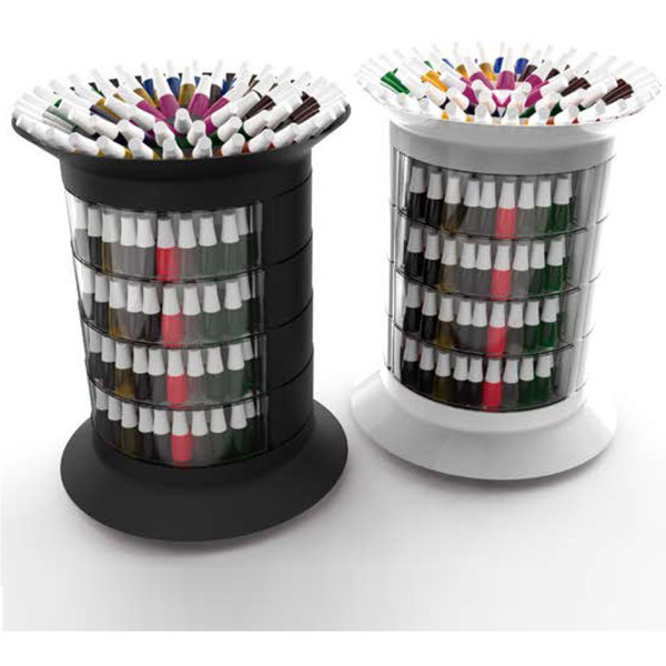 360 Manicure Trolley - Multiple Color Combinations Holds Over 375 Polishes ()