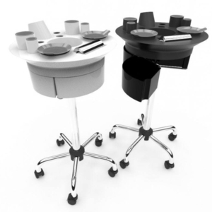 360 Trolley Lite Plus - Multiple Color Combinations Has 3 Drawers + 12 Appliance-Supply Holders ()