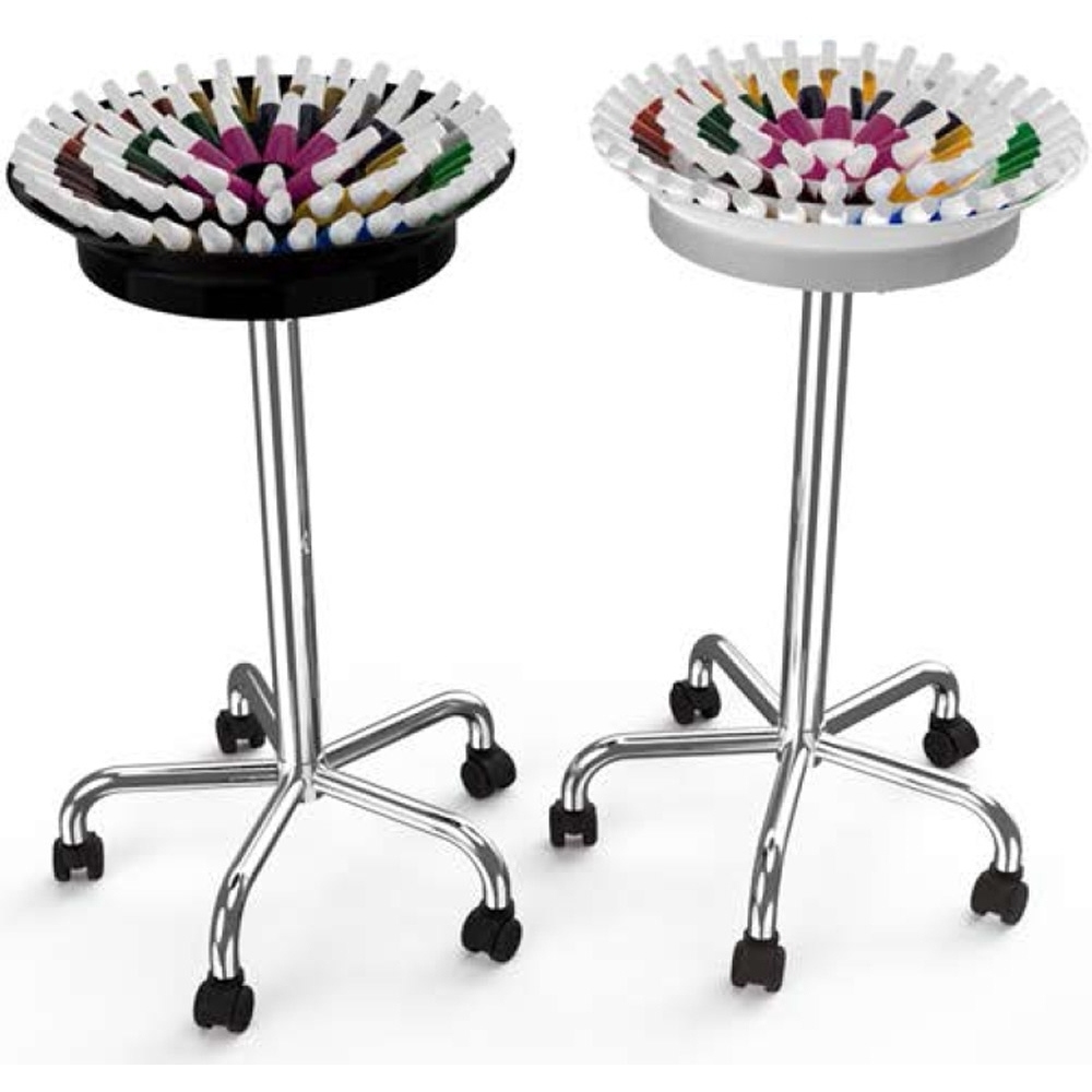 360 Nail Polish Trolley - Multiple Color Combinations Holds Over 75 ...