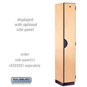 "Single Tier Designer Locker - 1 Locker Wide - 6' High X 18"" Deep"