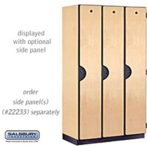 "Single Tier Extra Wide Designer Locker - 3 Lockers Wide - 6' High - 18"" Deep"