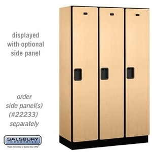 "Double Tier Extra Wide Designer Locker - 3 Lockers Wide - 6' High - 18"" Deep"