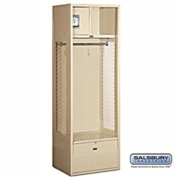 "Open Access Standard Locker - 6' High - 18"" Deep"