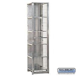 "Security Cage Locker - Standard - 18"" Wide - 6' High - 18"" Deep"