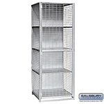 "Security Cage Locker - Large - 30"" Wide - 6' High - 30"" Deep"