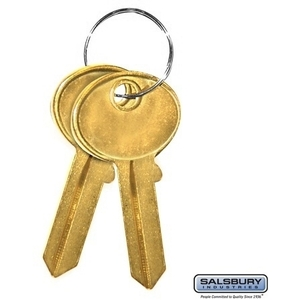 Key Blanks - for Standard Locks of Cell Phone Storage Lockers