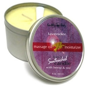 Earthly Body Suntouched Body Candle - Lavender 6