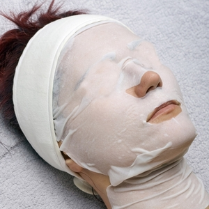 Collagen Fiber Face Mask w Hyaluronic Acid For