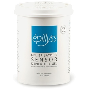 Epillyss Sensor Wax Depilitory Gel with Essential