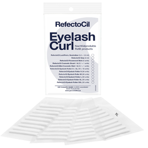 RefectoCil Eyelash Curl - Refill - Rollers 18 Small Rollers + 18 X-Large Rollers - For RefectoCil's Lash Perm Treatments! (US-RC 55031)