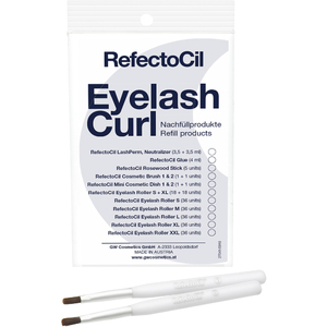 RefectoCil Eyelash Curl - Refill - Cosmetic Brush 1 & 2 2 per Pouch - For RefectoCil's Lash Perm Treatments! (US-RC 5507)