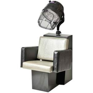 Cosmo Dryer Chair - Black Steel Base (For Virgo Dryer) (3468)